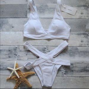 ZAFUL White Bikini- Size S
